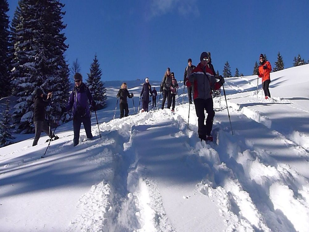 Naturnahes – Schneeschuhwandern